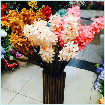 High - end simulation flowers decorated bouquets pastoral wedding artificial fake home