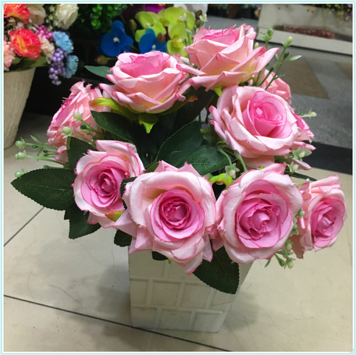 Supply Simulated bouquet rose high - end flower arrangement of the ...
