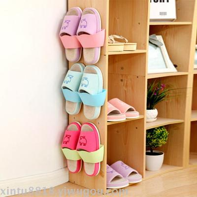 room bathroom viscose wall - mounted shoe frame wave separation three - dimensional wall simple wall - mounted shelves