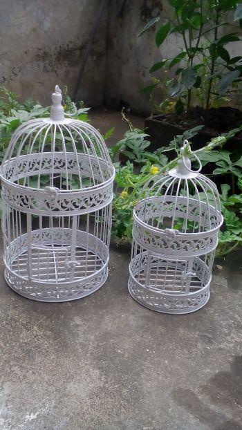Iron crafts handcuffs, home decoration Decoration bird cage, metal crafts