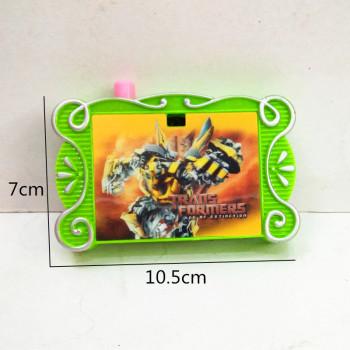 Children 's educational toys pocket children' s plastic cartoon pattern camera model toys
