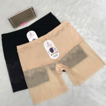 Fashion half lace lace anti-smuggling security pants modal pants female summer leggings