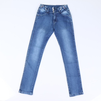 Men fashion jeans straight Slim pants factory direct