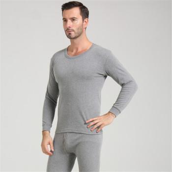 Cotton warm underwear pure cotton Qiu Qiu Qiu solid men 's underwear factory direct
