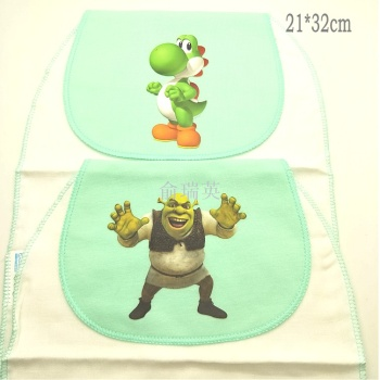 2017 new 3D baby sweat towel neonatal soft pad towel sweat towel cotton 2 installed