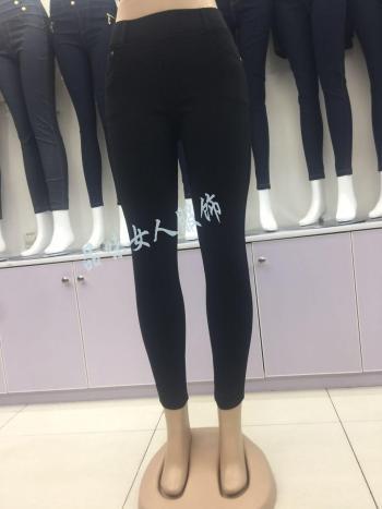 Classic woven elastic leggings PWSZ-0037