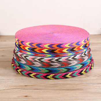 廠家直銷 彩色箭頭形狀編織款織帶 寵物繩帶