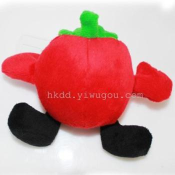 Environmental non-toxic green sound bb called plush pet supplies toys dog bite fruit