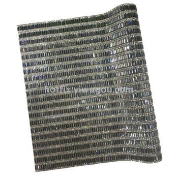 3 * 7 long strip + diamond glass drill hot melt adhesive network back plastic plate drill DIY jewelry accessories