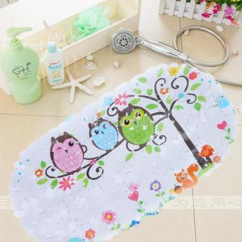 防水浴室防滑垫淋浴大号卫生间脚垫地垫儿童卡通垫