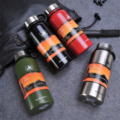 Creative new space insulation pot stainless steel vacuum insulation cup outdoor sports cup large capacity cup custom