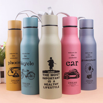 Manufacturers wholesale grenade stainless steel double insulated cupcar sports kettle wholesale gift custom new