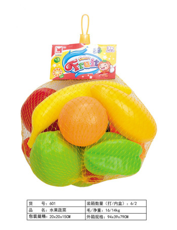 Children 's educational toys wholesale all know the fruit and vegetable color network bags