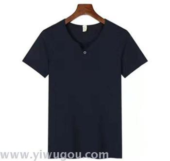 sleeved polo shirt Guanggu Shan T - shirt tooling semi - sleeved overalls