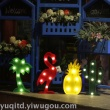Modeling light ar explosion South Korea led flamingo lamp cactus pineapple five-pointed star letters
