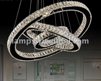 Creative restaurant angel halo chandelier ring LED living room crystal lighting & Supply Creative restaurant angel halo chandelier ring LED living ...
