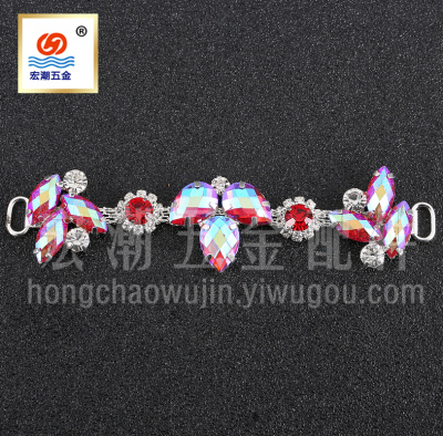 The new Korean version of diamonds alloy shoes shoes buckle long sandals jewelry