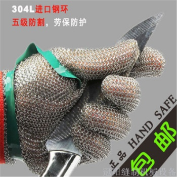 Professional anti - cutting anti - sawing gloves imported wire gloves