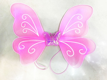 Single pink butterfly wings (excluding e-mail)