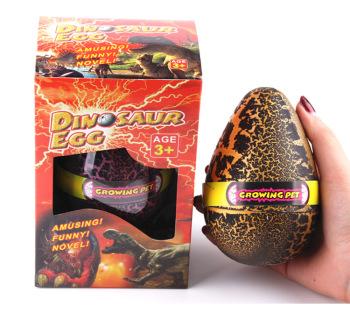 Dinosaur egg black crack extreme egg resurrection eggs 6 times enlarged dinosaur egg birthday gift