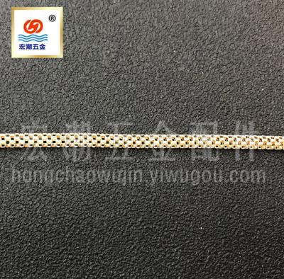 Hot chain metal chain corn chain diamond chain DIY hardware jewelry