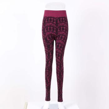 Autumn and winter women's legs plus velvet warm pants casual pants leggings padded warm ladies pants