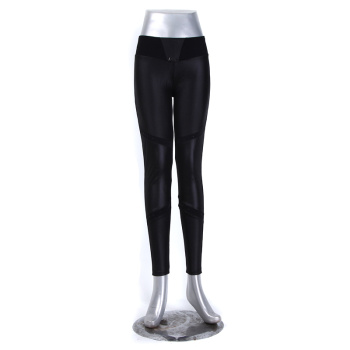 Black Leggings Leggings Fashion Casual Pants Outside Nine Piece