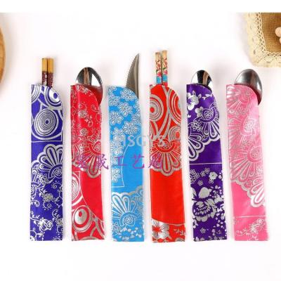 Special Silk double window fan accessories Dinnerware pouch Jewelry Accessories factory direct