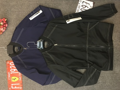 Men's solid color jacket long sleeve men's jacket large size cardigan stock