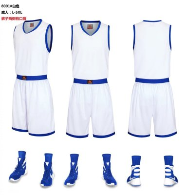 Sportswear suits men short-sleeved basketball uniforms uniform color uniforms
