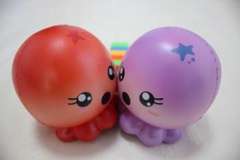 Pu slow rebound simulation marine animals jellyfish octopus child educational toys