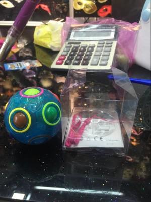 New luminous magic rainbow ball cube children's educational toys