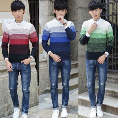 Autumn new men's sweater tide Korean men's head blush sweater