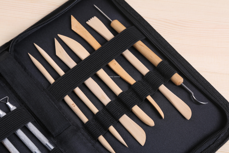 批发软陶雕塑陶瓷工具雕刻刀具多功能木工工具套装木雕美工用具