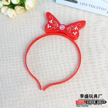 Glow hair hoop hair card flash headband concert headband night market