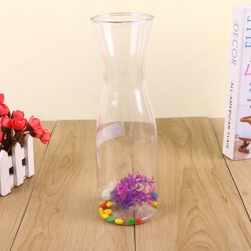 Supply 2017 New Small Waist Vase Creative Plastic Vase