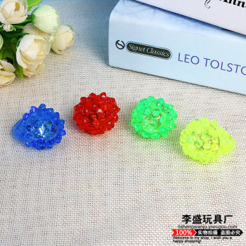 Plush Soft Glow Ring Pomegranate Flash Ring Concert Hot sale stall toy