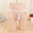 Women's summer ladies 100% cotton sexy waist breathable pure color cotton crotch trousers ladies underwear