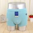 Men's underwear 100% cotton flat pants four-legged trousers summer flat underwear men's four underwear