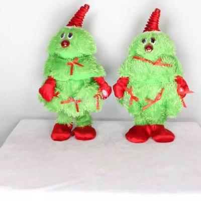 Christmas gifts electric singing and dancing Christmas tree personality twisted tree creative bursts of rotation