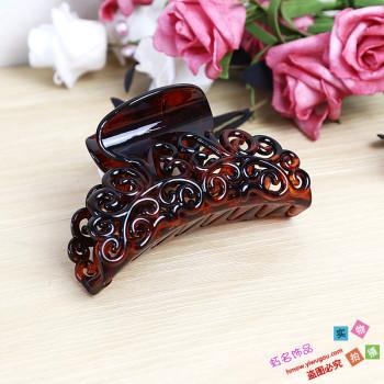Elegant headwear grab clips to grab hair accessories Barrette hair clip flower head clamp clamp head jewelry