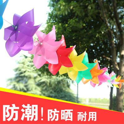 New cable 6 angle flashing windmill children luminous toys gifts custom activities props
