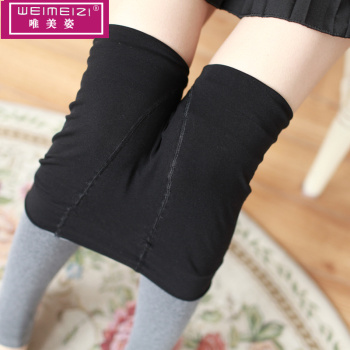 AB double-sided wear one pants thick step on foot pants winter warm underwear factory direct