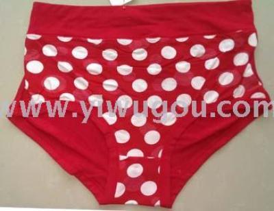 Foreign trade large underwear milk silk ladies underwear in the waist briefs pants spot