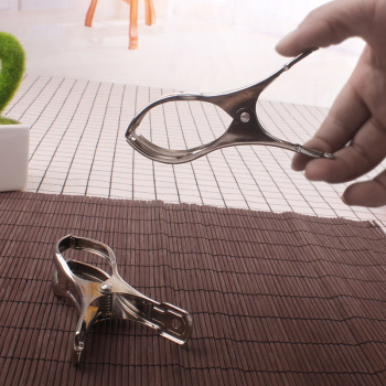 / 1-10 yuan shop 05329 steel was clamped clothes folder pants folder home drying daily necessities