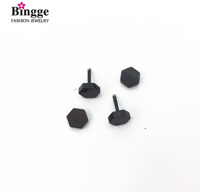 Trendy fashion line cut short rod ear bone nail man and female ear stud small ear nail lip nail
