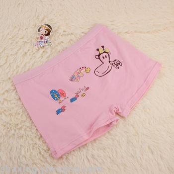 The new cotton in the big girls underwear cotton printing breathable comfortable girls pants cheap wholesale