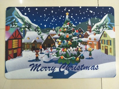 Christmas Series PVC Mat Floor Door Pad