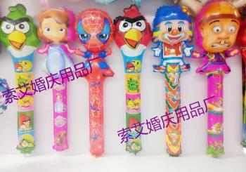Strike Sticks Large Hand Sticks Sticks Stickers Sticky Sticks Balloon Cartoon La Bara Children Toys Aluminum Foil
