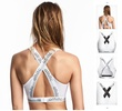 070 # Sports type after the United States and the back of the cross-wrapped chest sports vest